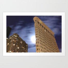 Flatiron Building/30 Seconds Art Print