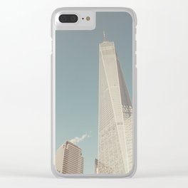 World Sky - New York City Clear iPhone Case