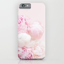 Peonies Bouquet | Peonies Photography | Floral | Nature | Flowers iPhone Case