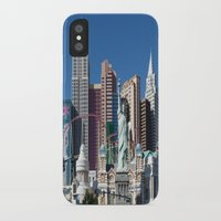 las vegas iPhone & iPod Cases featuring Las Vegas by Lynn Bolt
