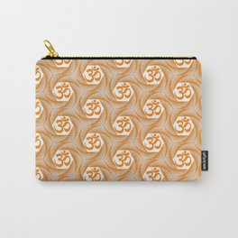 Orange Om Carry-All Pouch