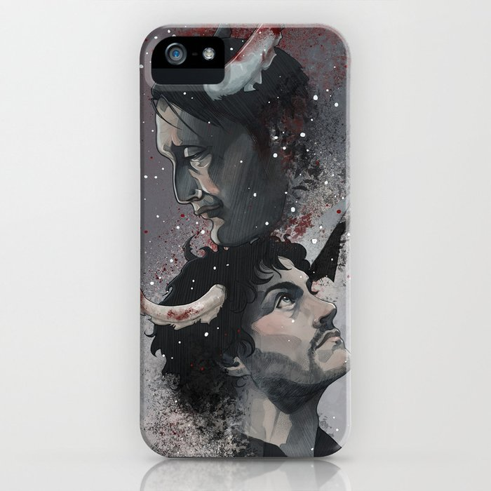Winter Blood iPhone Case