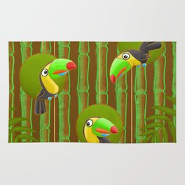 Toucan Party! Rug
