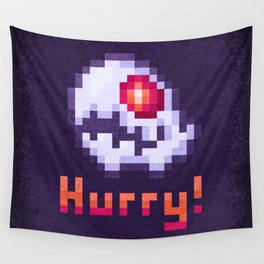 Hurry Von Death Ghost Wall Tapestry