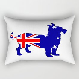 Australian Flag - Chihuahua Rectangular Pillow