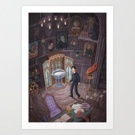Headmaster's Office Art Print