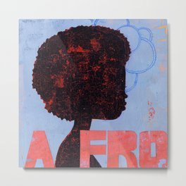 A FRO Metal Print