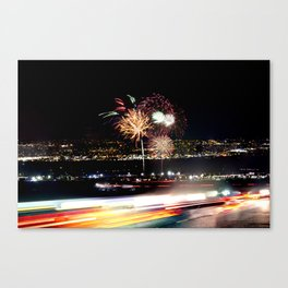 Too Much Going On..... Canvas Print