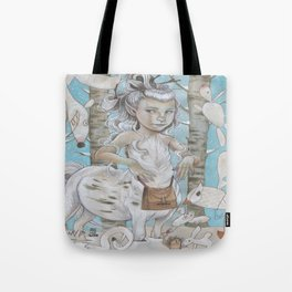 WINTER CENTAUR Tote Bag