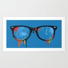 Color Overload Art Print