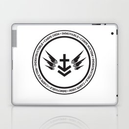 Immovable & Indestructible (Black Design) Laptop & iPad Skin