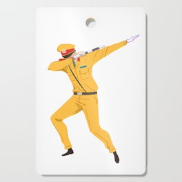 Vietnamese Traffic Cop Dab Cutting Board