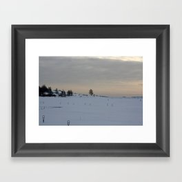 Winter I Framed Art Print