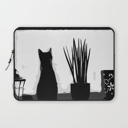 Kitty in the Window Laptop Sleeve