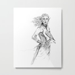 Queen of Terrasen Metal Print