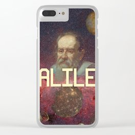 Visions of Galileo Clear iPhone Case