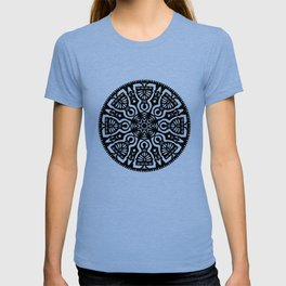 Polish Papercut Dancers Black T-shirt