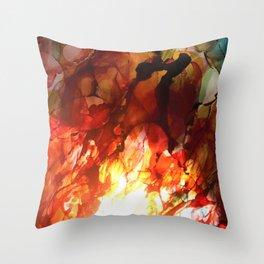 Crucible of Change Throw Pillow