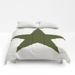 Vintage U.S. Military Star Comforters