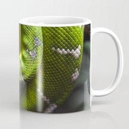 Green Snake Skin Coffee Mug