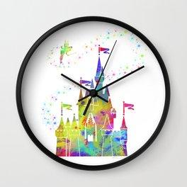Castle of Magic Kingdom Wall Clock