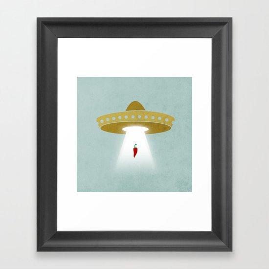 UFsombrerO Framed Art Print