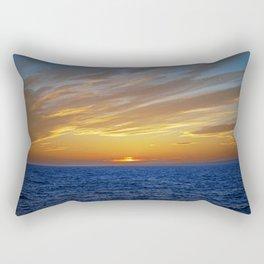 Sunset on the Horizon III Rectangular Pillow
