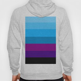 Northern Deep Blue Sky - Abstract Hoody