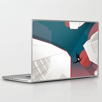 mad men Laptop & iPad Skins featuring Mad Men by PIXERS