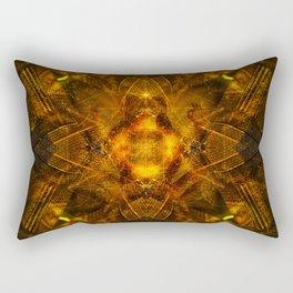 Illusion Of Matter Rectangular Pillow