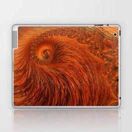 Orange Lily Fractal Laptop & iPad Skin