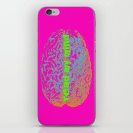 can you read my mind? iPhone Skin