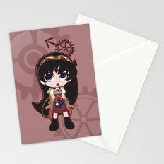 Steampunk Sailor Mars - Sailor Moon Stationery Cards