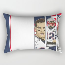 Brady Champion Super Bowl XLIX  Rectangular Pillow