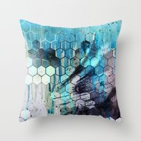 splash Throw Pillows featuring Splash by Esco