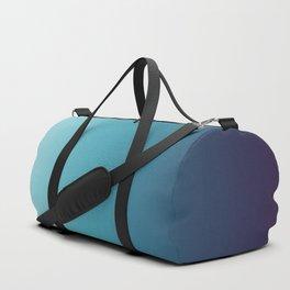 Blue White Gradient Duffle Bag
