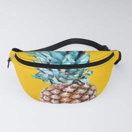 Pineapple Ananas On A Yellow Mellow Background #decor #society6 #buyart Fanny Pack
