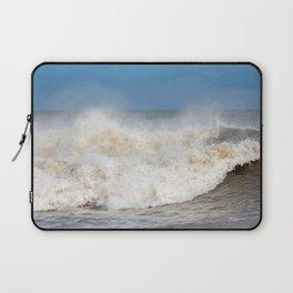 Stormy Ocean waves seascape Laptop Sleeve