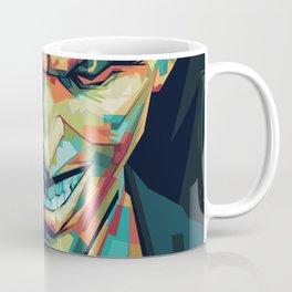 Joker Pop Art Portrait Coffee Mug