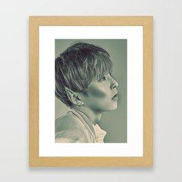 Elf Minseok Framed Art Print