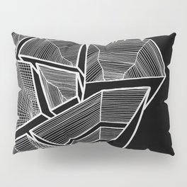 Pockets - Inverted B&W Pillow Sham