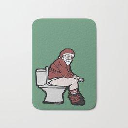 Toilet Santa Bath Mat