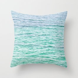 Sea surface Throw Pillow