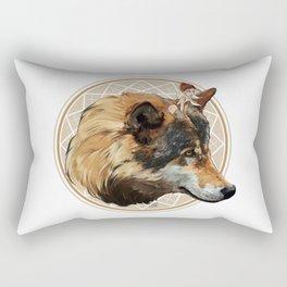 Wild Child - Wolf Rectangular Pillow