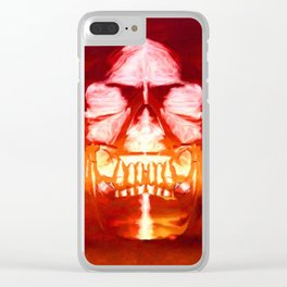 The Crystal Skull Clear iPhone Case