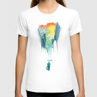 art T-shirts featuring I Want My Blue Sky by Picomodi