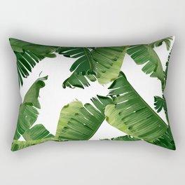 Banana Green Rectangular Pillow