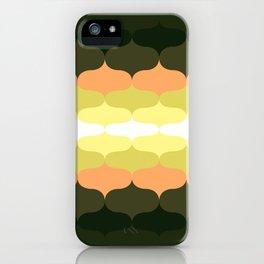 Retro 70s Pattern 5 iPhone Case