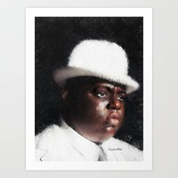 biggie smalls Art Prints featuring Biggie Smalls by André Joseph Martin