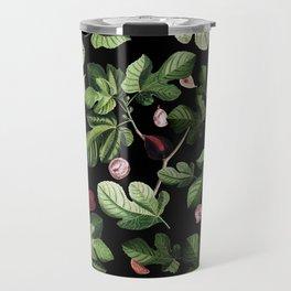Figs Black Travel Mug
